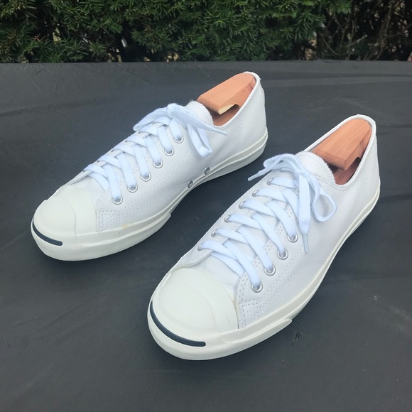 929ad8d07d23 Converse Other - Converse Jack Purcell Leather Low Mens 11 White